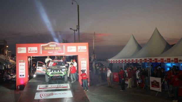 Así fue la partida simbólica del Dakar Series en Paracas [FOTOS]