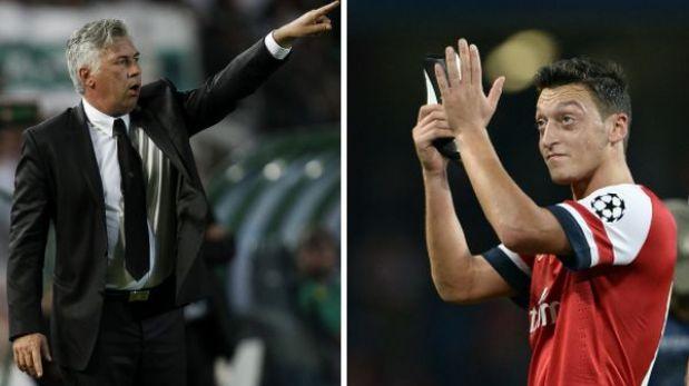"""Carlo Ancelotti insiste: """"En Real Madrid no necesitamos a Özil"""""""