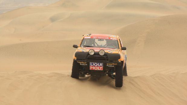 Así se vivió el primer día del Dakar Series en Paracas [FOTOS]