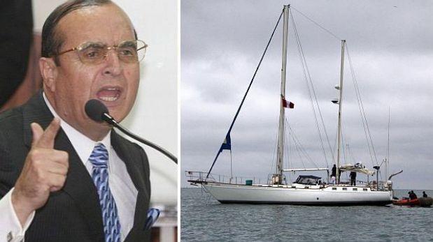 Velero 'Karisma' no podrá ser usado por Montesinos para pagar reparación civil