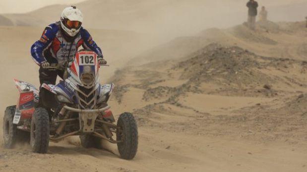 Ignacio Flores ganó una etapa y escala al segundo lugar en el Dakar Series