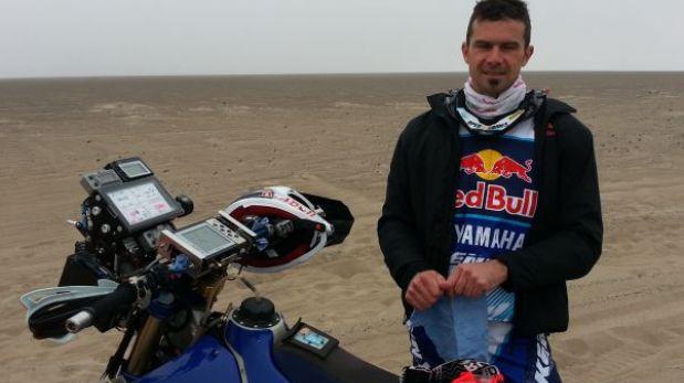 Cyril Despres abandonó la segunda etapa del Dakar Series