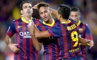 Barcelona goleó 4-1 a Valladolid con doblete del chileno Alexis Sánchez [VIDEO]