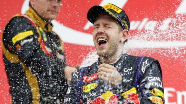F1: Sebastian Vettel ganó en Corea y acaricia su cuarto título mundial