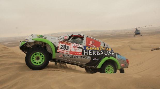 Desafío Inca: Pancho León y Diego Weber entre los mejores de autos