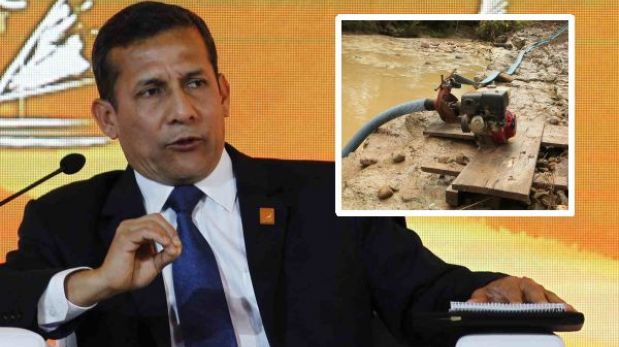 Ollanta Humala criticó minería ilegal en foro de desarrollo sostenible