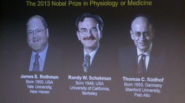 Premio Nobel de Medicina fue otorgado a dos estadounidenses y un alemán