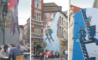 Bélgica: sigue la ruta del cómic en Bruselas