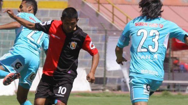 Cristal y Melgar empataron en 35 minutos restantes del partido suspendido