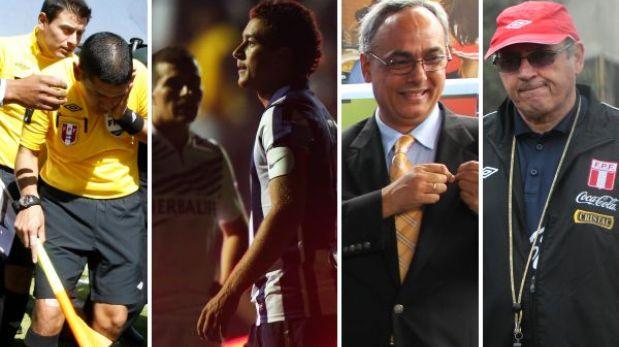 Trece papelones del fútbol peruano en el 2013