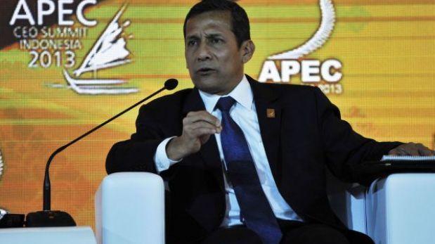 Ollanta Humala adelantó su regreso a Lima desde la Cumbre APEC