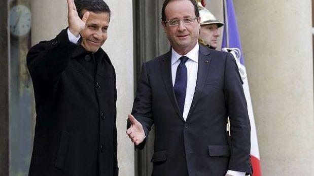 Ollanta Humala y presidente de Francia se reunirán mañana en París