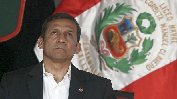 Congreso debe reunirse de emergencia por viaje de Humala a Francia