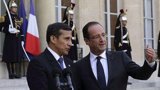 Vicecanciller explica viaje de Humala a París: Gobierno francés pidió una reunión