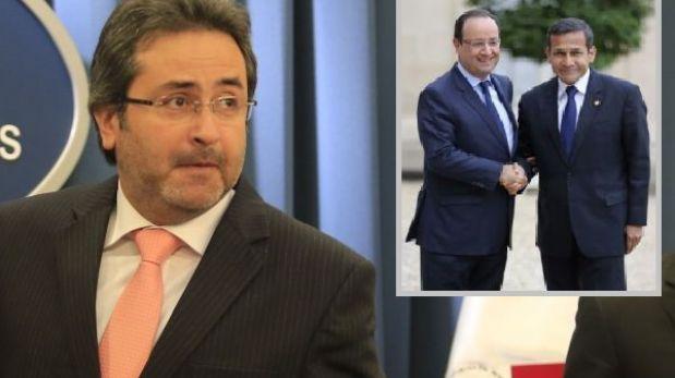 """Jiménez: """"Ollanta Humala tenía que hacer de todas maneras una escala en París"""""""