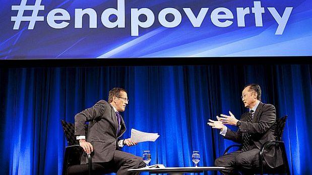 Banco Mundial se propone reducir la pobreza global a la mitad en 2020
