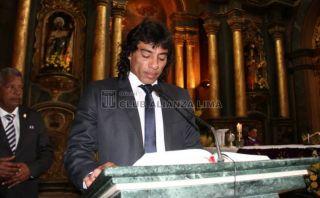 Plantel de Alianza Lima rindió homenaje al Señor de los Milagros [FOTOS]