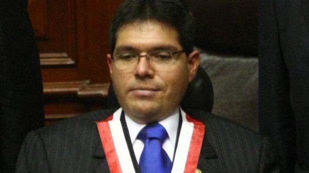 Bancada Acción Popular-Frente Amplio presentó denuncia constitucional contra Michael Urtecho