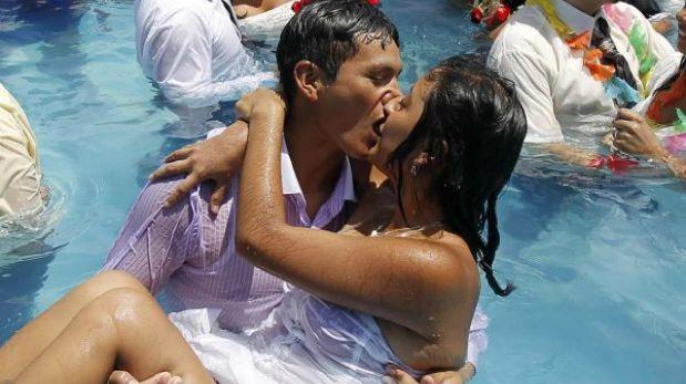 El beso, un cásting químico para elegir pareja