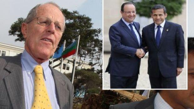 PPK opinó que escala de Humala en París no debe ser tema de discusión nacional
