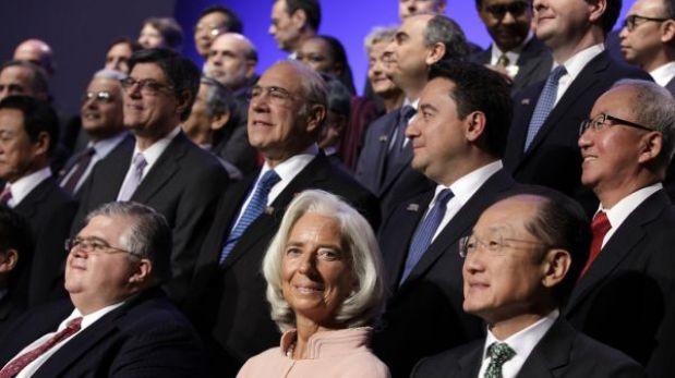 """El G20 pide a EEUU una """"acción urgente"""" para solucionar incertidumbre"""