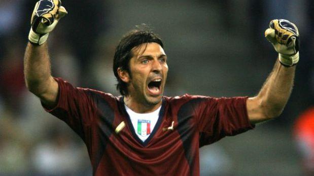 Buffon batió el récord de partidos con la selección de Italia
