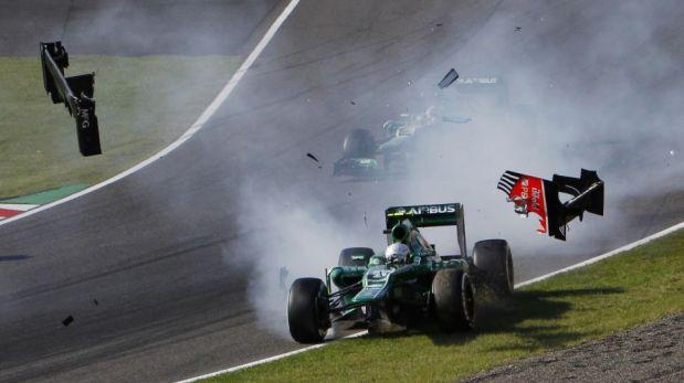Desfile de autos clásicos y lo mejor del triunfo de Sebastian Vettel en el Gran Premio de Suzuka [FOTOS]