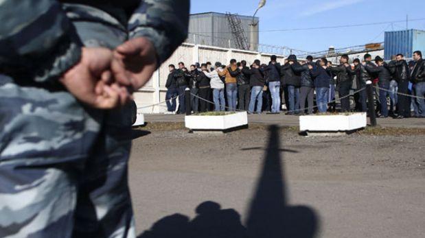Redada contra inmigrantes en Rusia acabó con 1.200 detenidos