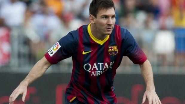 Lionel Messi regresó a los entrenamientos con el Barcelona