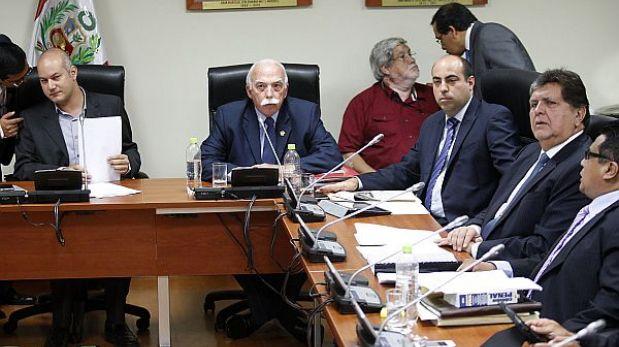 Interrogatorio a Alan García en la megacomisión será reservado