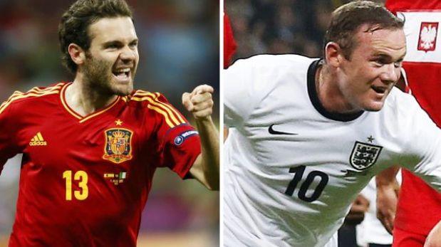 España e Inglaterra lograron el pase directo al Mundial Brasil 2014