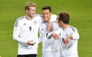 Alemania remontó 5-3 a Suecia con triplete de Schürrle