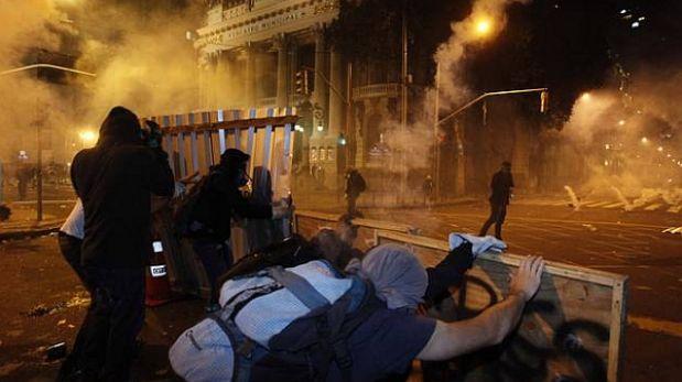 Brasil: al menos 264 personas fueron detenidas por protestas de profesores