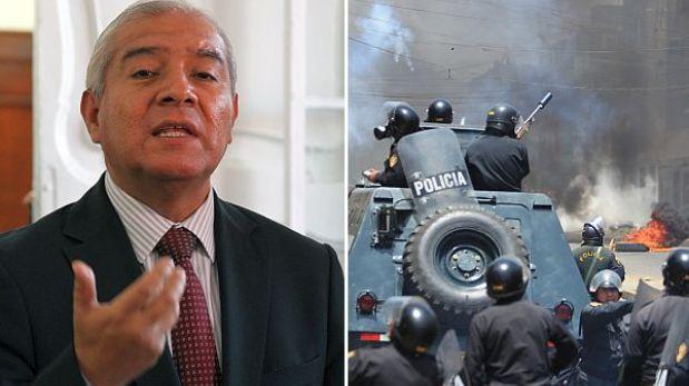 """Fallo judicial sobre operación en La Parada """"es benévolo"""", insistió Pedraza"""