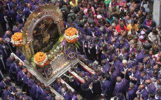 El Señor de los Milagros volvió a inundar de fe y devoción las calles de Lima [FOTOS]