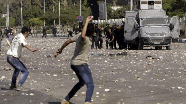 Egipto: protestas a favor de derrocado Mursi provocan choques con policías
