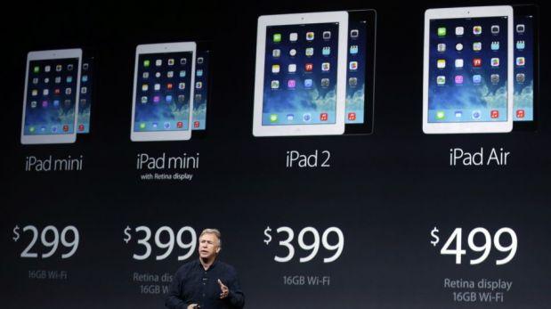 Apple presentó sus nuevas iPad y Tim Cook se burló de la competencia [FOTOS]