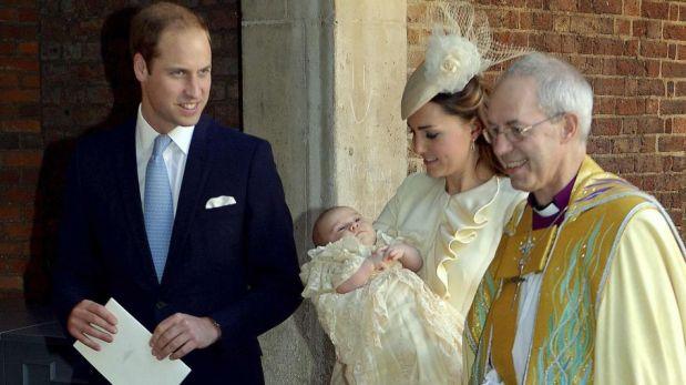 El bautizo del príncipe George, el hijo de William y Kate [FOTOS]