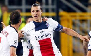 Ibrahimovic marcó cuatro goles en el 5-0 del PSG ante el Anderlecht [VIDEO]