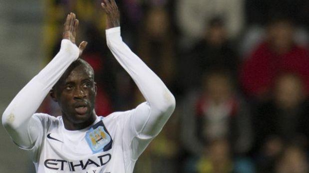 Champions: Yaya Touré denunció que fue víctima de cánticos racistas