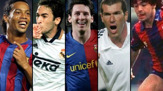 Barcelona-Real Madrid: diez goles que marcaron historia en los clásicos