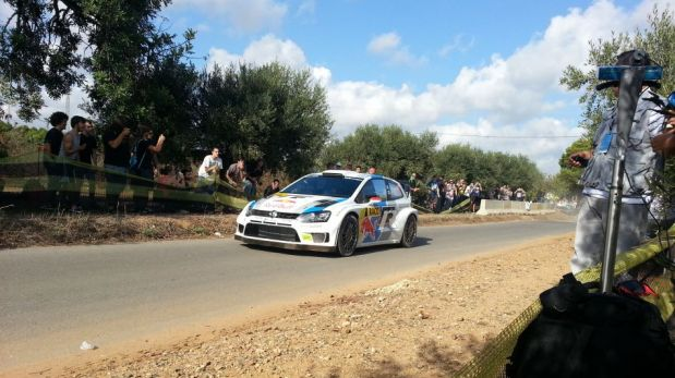 Mundial de Rally: pilotos tardaron un minuto para recorrer los primeros dos kilómetros de carrera [FOTOS]