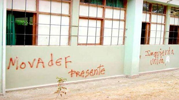 Integrantes del Movadef tomaron dormitorios de La Cantuta, denunció rector temporal