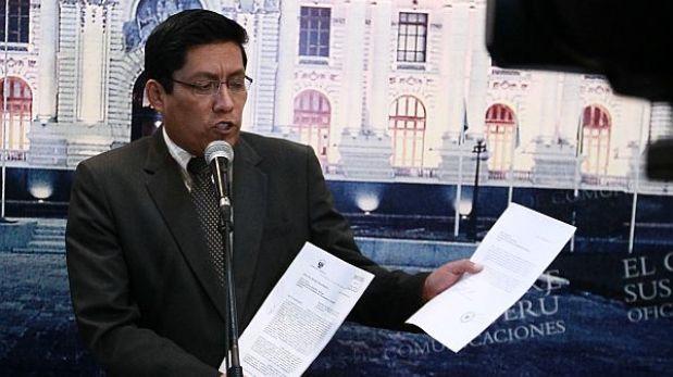 """Zeballos a Toledo: """"No se está violando su derecho a la defensa"""""""
