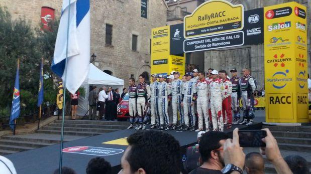Así se viven los momentos previos a la penúltima fecha del Mundial de Rally [FOTOS]