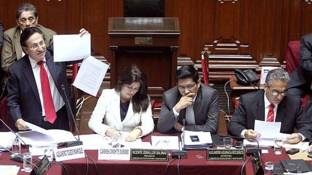 """Fiscalización """"aún tiene dudas"""" tras interrogatorio a Alejandro Toledo"""