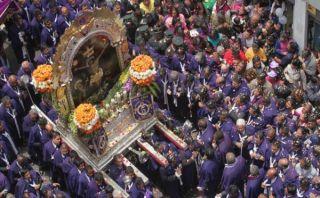 El Señor de los Milagros seguirá el lunes esta ruta en su quinto recorrido por Lima