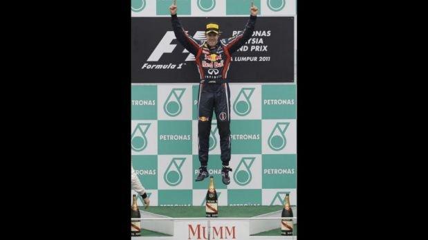 Sebastian Vettel, el 'niño maravilla' que igualó a Fangio y Schumacher en la Fórmula 1 [FOTOS]