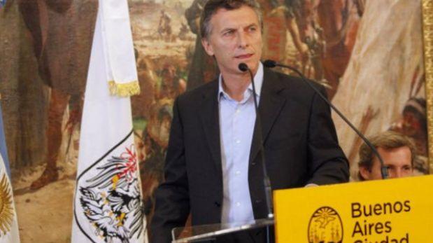 Mauricio Macri se lanza como candidato a la presidencia de Argentina