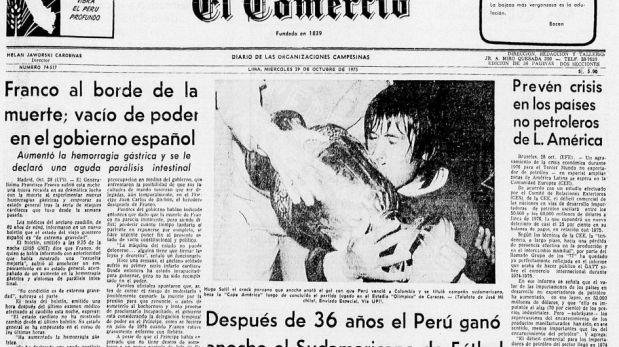 Hace 38 años Perú salió campeón de la Copa América [FOTOS]